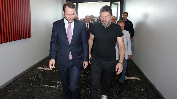 همدست رضا ضراب رئیس بورس استانبول شد