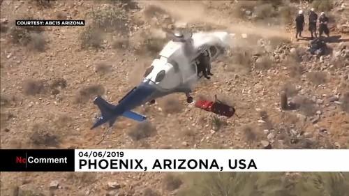 Un sauvetage par hélicoptère qui tourne au fiasco