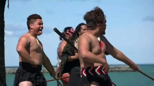 Māori rite marks 250th anniversary of Cook's New Zealand landing