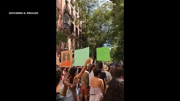 مظاهرات في كوبنهاغن ومدريد تضامناً مع الأمازون تنديداً بسياسة بولسونارو