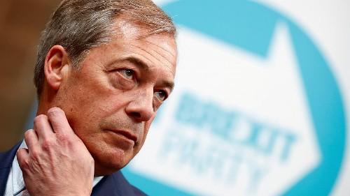 Européennes : Nigel Farage en embuscade