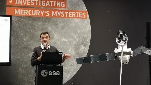 """Il """"pilota"""" di Bepi Colombo Andrea Accomazzo racconta la prima missione europea su Mercurio"""