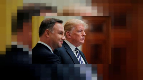 Poland, U.S. near deal for more American troops, no sign of 'Fort Trump'