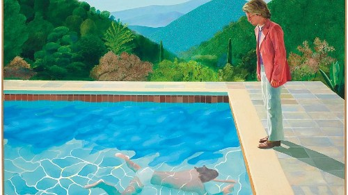 David Hockney's iconic painting sells for record $90.3 million