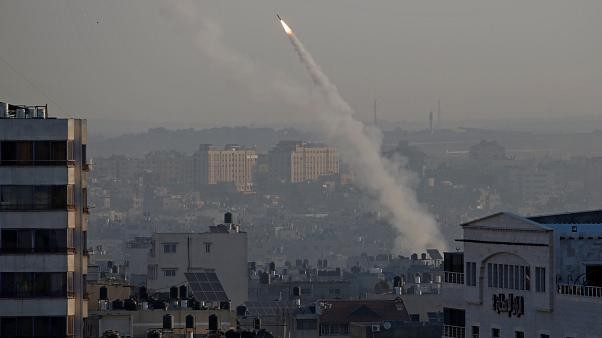 Israeli and Palestinian forces exchange rocket attacks as tensions escalate