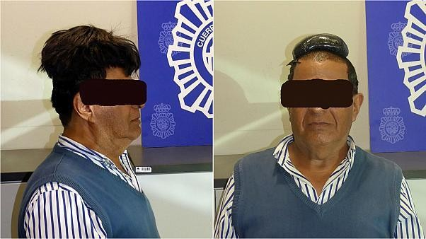 Made toupee? Man 'tries to smuggle cocaine under his wig'