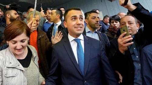 Italy's 5-Star leader and deputy PM Luigi Di Maio wins party confidence vote