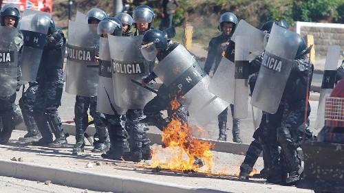 Honduran protesters remember murdered environmentalist