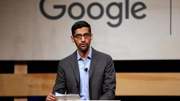 Google chief Pichai takes over parent Alphabet as co-founders Page and Brin step down