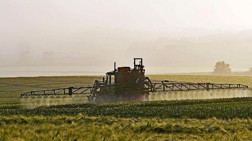 Which EU countries consume the most pesticides?