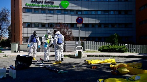 Spain reports record COVID-19 daily death toll