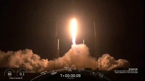 Schnelles Internet: SpaceX schießt 60 Satelliten ins All