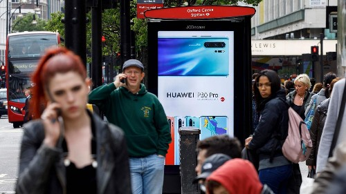 Despite U.S. warnings, U.K. chooses Chinese telecoms giant to build parts of 5G network