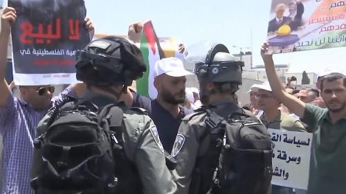 Les Palestiniens mobilisés contre la conférence de Bahreïn