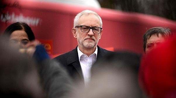Jeremy Corbyn to step down as Labour leader after crushing defeat