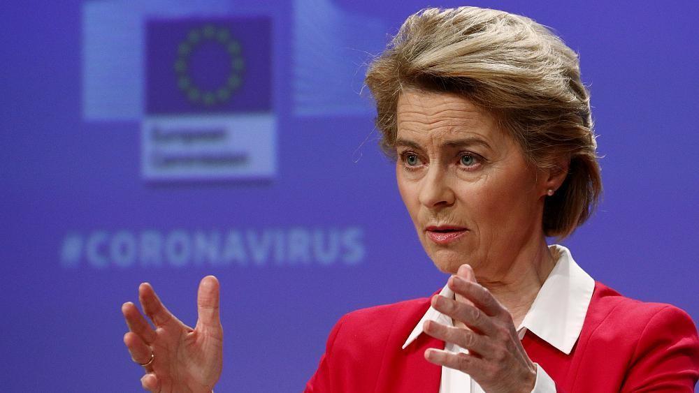 EU will raise more than €15 billion to fight coronavirus, says Ursula von der Leyen