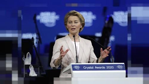 Davos : Ursula von der Leyen marque son territoire