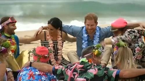 Harry & Meghan ravissent le cœur des Australiens