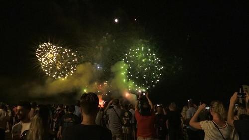 Nice volta a celebrar com fogo de artifício