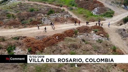 Venezolaner fliehen vor der Krise