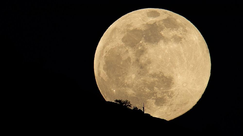 Biggest and brightest 'supermoon' of the year to rise tonight