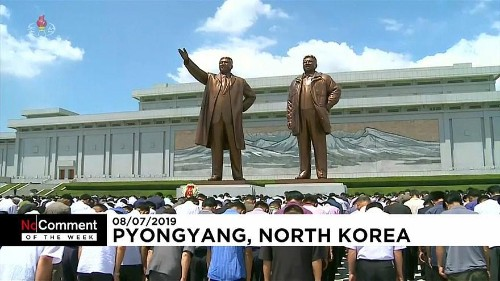 No Comment of the Week: French hay sculptures, Pyongyang ceremony, US football celebrations