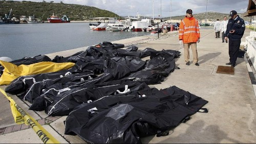 Identifying the nameless dead in the migrant crisis