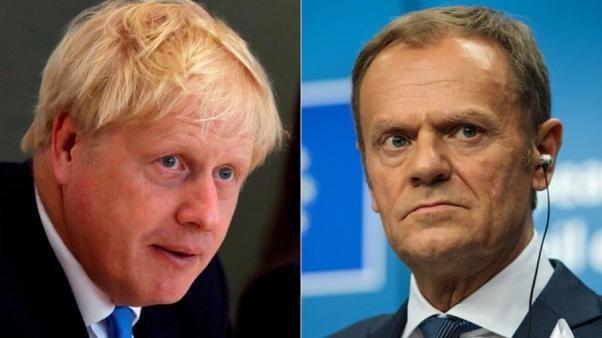 Brexit: Johnson AB'ye iki mektup ileterek birinde erteleme talep etti diğerinde ertelemeyin dedi