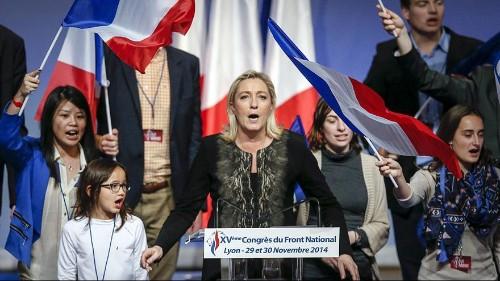 France : Marine Le Pen se voit déjà au second tour de la présidentielle de 2017