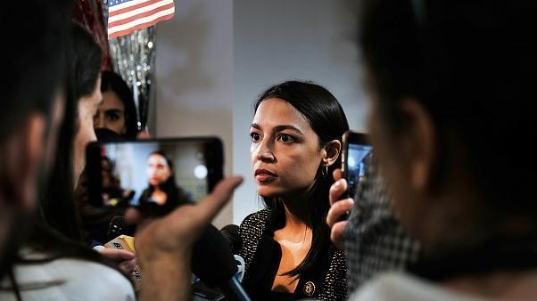 AOC condemns Republican PAC ad that shows her face on fire
