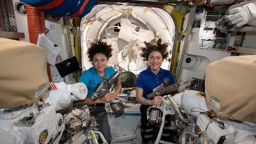 Watch NASA's first all-female spacewalk
