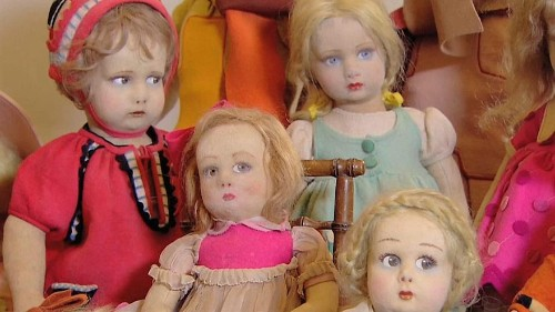 Watch: rare and antique dolls worth thousands go on show in Rome exhibition