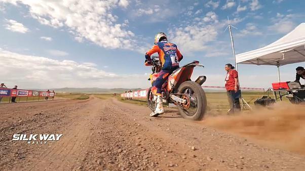 Silk Way Rallye 2019 - Sam Sunderland baut Gesamtführung aus