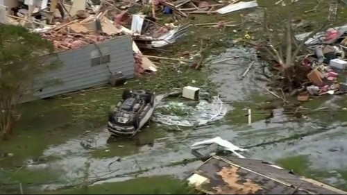 Tote bei Unwetter in den USA