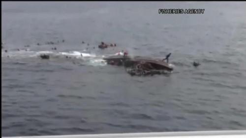 Nordkoreanisches Fischerboot sinkt nach Kollision vor Japan