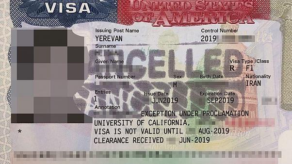 No 'plan B': Iranian students despair as visa applications revoked