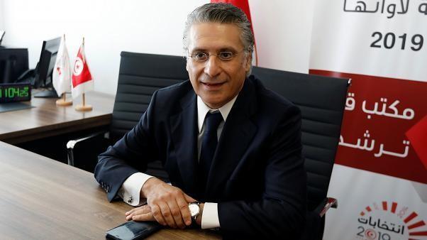 توقيف المرشح الرئاسي التونسي نبيل القروي بتهمة التهرب الضريبي