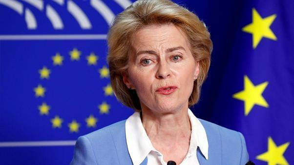 #UE : Ursula #vonderLeyen face aux eurodéputés
