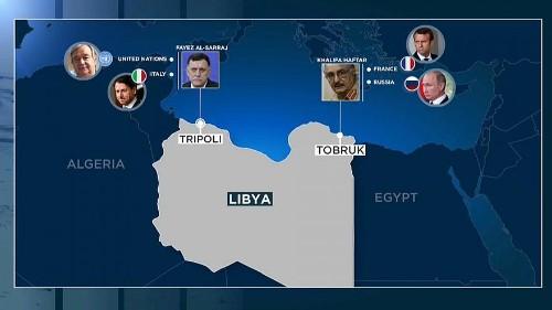 Gli attori internazionali sullo scacchiere libico