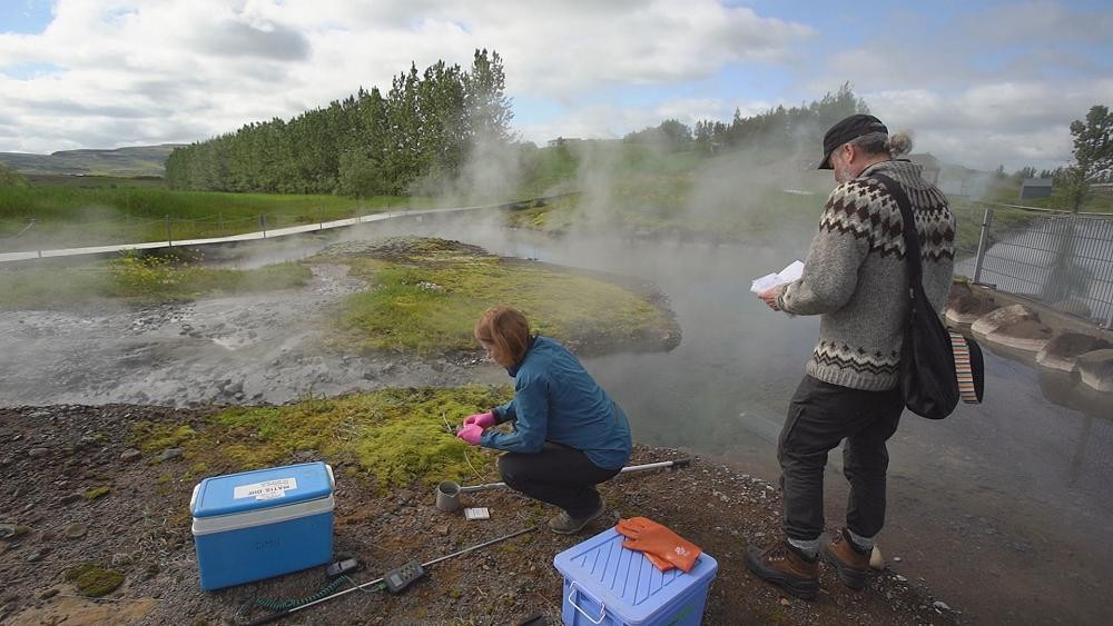 'Virus hunters' explore Iceland's geothermal hot springs for solutions