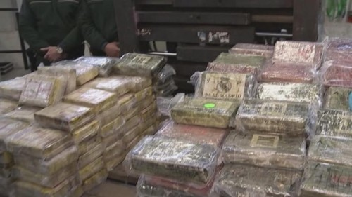 Germany's biggest ever cocaine haul seized