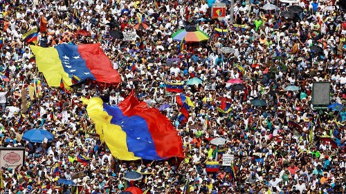 Venezuela's squabbling presidents do nothing to alleviate escalating health crisis
