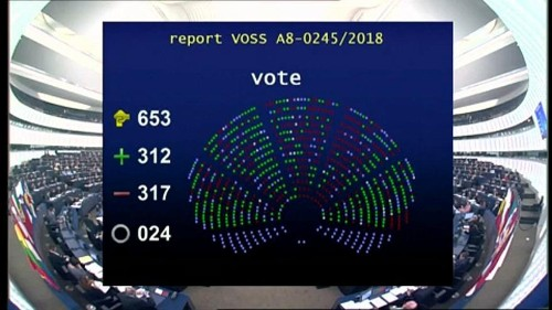 البرلمان الأوروبي يوافق على تعديل حقوق الملكية الفكرية