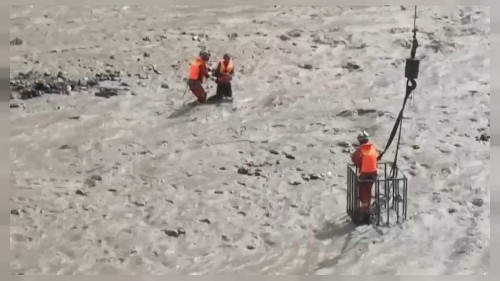 Rescue underway as flood batters southwest China's Sichuan province