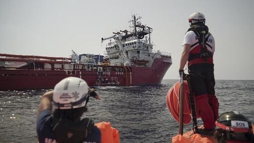 Ocean Viking seeking safe port for 223 migrants