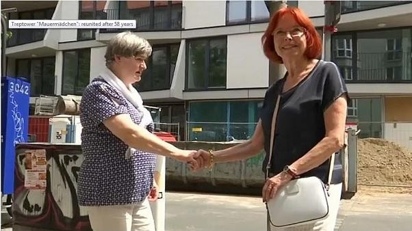 Meet the women reunited 58 years after Berlin Wall was built