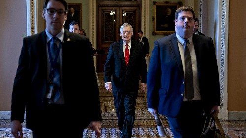 McConnell makes last-minute changes to Trump impeachment trial rules