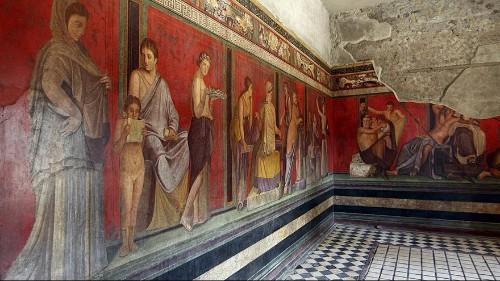 Mysterienvilla von Pompeji wiedereröffnet