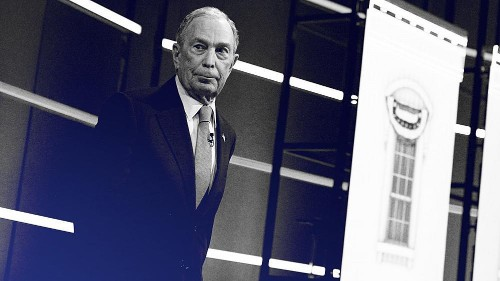 Bloomberg tells Democrats they need him. Not everyone agrees.
