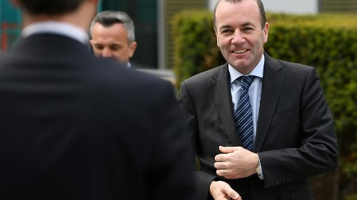 Then and now: Manfred Weber's digs at Hungary over the years
